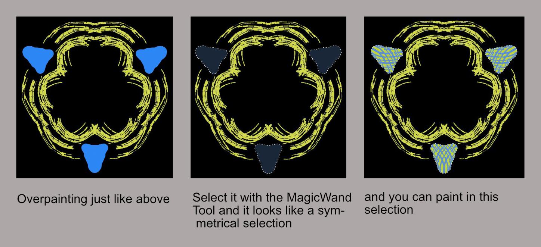 Symmetrical Selection Trick