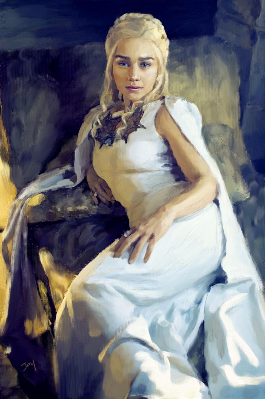 Daenerys Targaryen Acrylic
