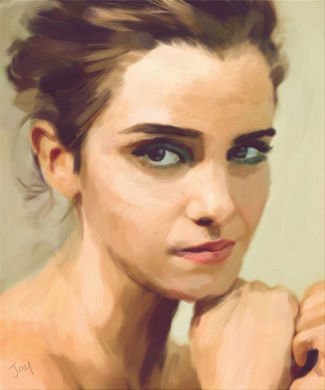 Emma Watson Acrylic