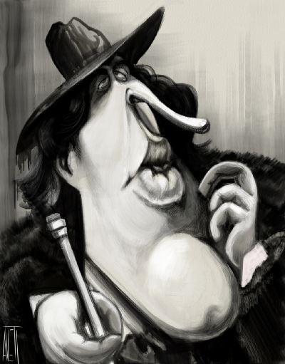 Oscar Wilde by Manny Aveti