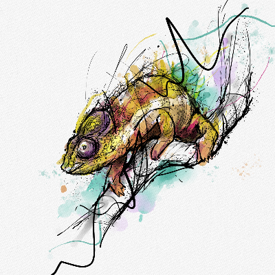 Chameleon by Bryan Sanchez M