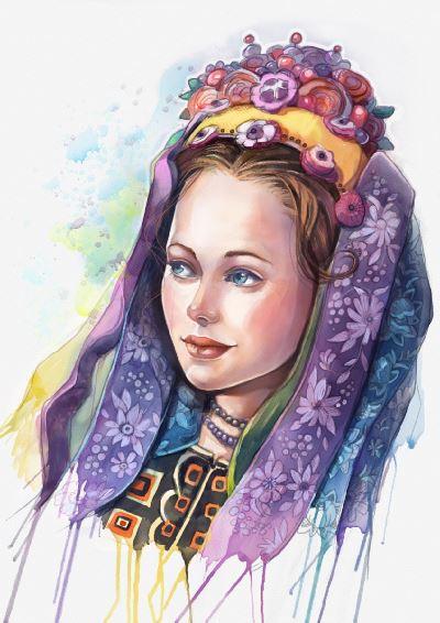 Slovak Bride by Kamila Stankiewicz