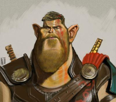 Thor by Manny Aveti